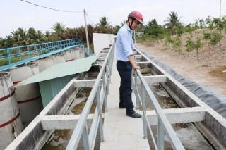Trạm xử lý phân bùn thải tự hoại đầu tiên trên địa bàn tỉnh