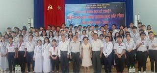 2 đề tài tham gia cuộc thi khoa học kỹ thuật cấp quốc gia dành cho học sinh trung học