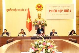 Chủ tịch Quốc hội chủ trì Phiên họp Hội đồng Bầu cử Quốc gia