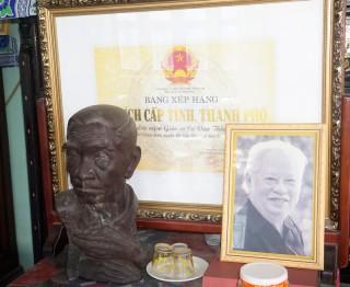 Khảo sát di tích lịch sử văn hóa Khu lưu niệm Giáo sư Ca Văn Thỉnh