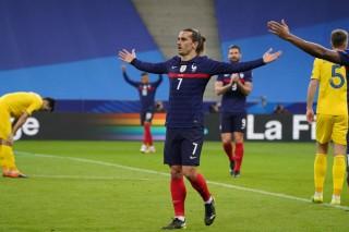 Pháp bị Ukraine cầm hòa ở vòng loại World Cup 2022
