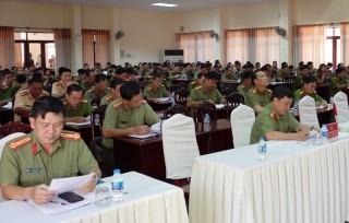 Đảng ủy Công an tỉnh thông báo nhanh kết quả Đại hội XIII của Đảng
