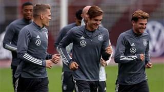 ĐT Đức không hủy thi đấu dù có ca dương tính Covid-19