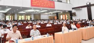 Khai mạc hội nghị nghiên cứu, học tập, quán triệt Nghị quyết Đại hội XIII của Đảng