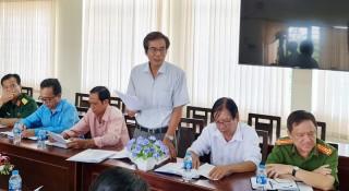 Giám sát công tác bầu cử đại biểu Quốc hội khóa XV và đại biểu HĐND các cấp tại huyện Chợ Lách, Mỏ Cày Bắc