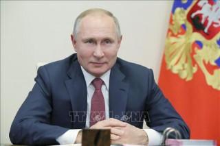 Lãnh đạo Nga, Pháp và Đức thảo luận về các vấn đề quốc tế