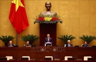 Thông cáo báo chí số 06, Kỳ họp thứ 11, Quốc hội khóa XIV