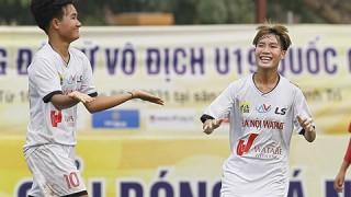 U19 nữ Quốc gia 2021: TP.HCM lại đại bại, Hà Nội dội mua gôn
