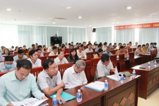 Tập huấn phương án Tổng điều tra cơ sở hành chính năm 2021