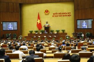 Ngày 2-4-2021, Quốc hội thảo luận về việc miễn nhiệm Chủ tịch nước