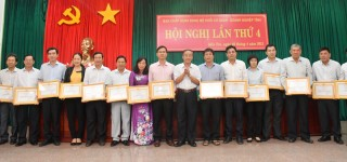 Đảng ủy khối Cơ quan-Doanh nghiệp tỉnh hội nghị Ban Chấp hành mở rộng lần thứ 4