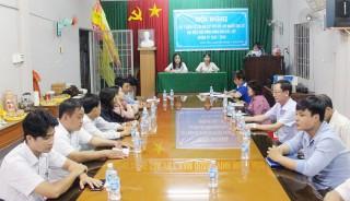 Hội nghị lấy ý kiến cử tri nơi cư trú tại phường Phú Tân, TP. Bến Tre