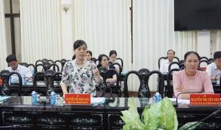 Ủy ban Bầu cử tỉnh họp lần thứ 4