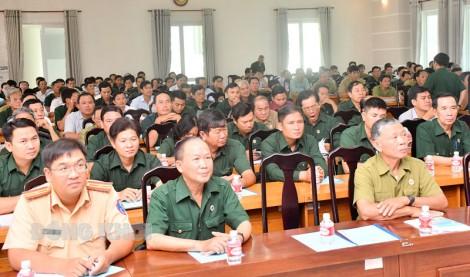Tập huấn an toàn giao thông cho hội viên cựu chiến binh các cấp