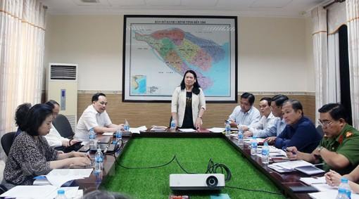 Phó chủ tịch UBND tỉnh làm việc với Viện Nghiên cứu và Ứng dụng phòng, chống ma túy