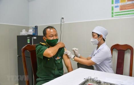 Sáng 11-4-2021, không ghi nhận ca mắc mới, gần 60.000 người đã tiêm vaccine
