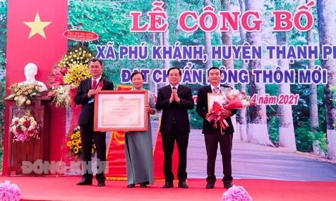 Phú Khánh đạt chuẩn xã nông thôn mới