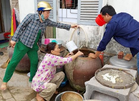 Không tăng giá nước sạch trong thời gian hạn mặn