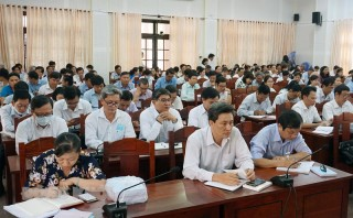 Hội nghị cán bộ chủ chốt quán triệt Nghị quyết Đại hội đại biểu toàn quốc lần thứ XIII của Đảng