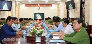 Hội nghị trực tuyến triển khai các biện pháp phòng ngừa, ngăn chặn cháy lớn