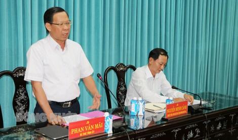 Bí thư Tỉnh ủy làm việc với Ban thường vụ Liên minh Hợp tác xã