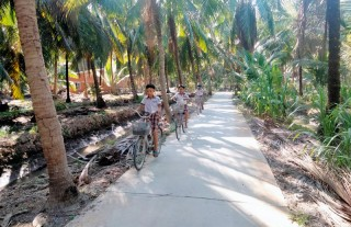 Thới Lai phấn đấu xây dựng nông thôn mới nâng cao