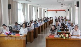 Hội nghị hiệp thương lần thứ ba tại tỉnh và các huyện