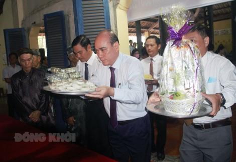 Các địa phương trang trọng tổ chức lễ Giỗ Tổ Hùng Vương