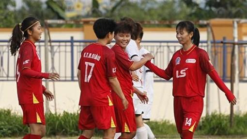 ĐKVĐ TP.HCM I thắng dễ ở giải bóng đá nữ Cúp Quốc gia 2021