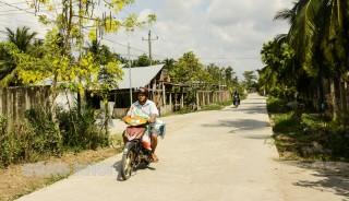 Mỏ Cày Nam phát triển hạ tầng kinh tế và xã hội nông thôn mới