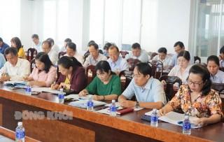 Tập huấn nghiệp vụ công tác bầu cử