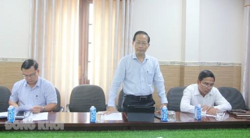 Phó chủ tịch Thường trực UBND tỉnh tiếp Tập đoàn Hanbeak