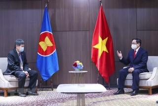 Thủ tướng đánh giá cao sự hợp tác của Tổng Thư ký ASEAN với Việt Nam