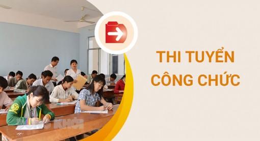 Vòng 2 kỳ thi tuyển công chức tỉnh Bến Tre năm 2020 dự kiến ngày 30-5-2021