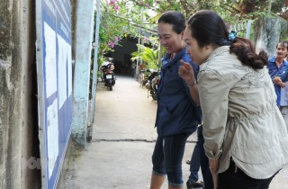 Châu Thành tập trung tổ chức tốt cuộc bầu cử