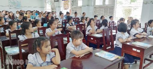 Thao giảng môn tiếng Việt lớp 1