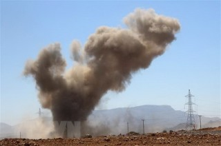 Một loạt vụ nổ làm rung chuyển thủ đô Sanaa của Yemen
