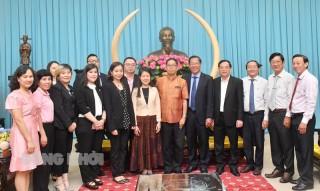 Tiếp và chào xã giao đoàn Tổng lãnh sự và Đại sứ quán Hoàng Gia Thái Lan
