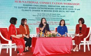 Hội thảo tham vấn hỗ trợ doanh nhân nữ ứng phó với dịch Covid-19