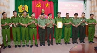 Tỉnh ủy Bến Tre gửi thư khen Công an tỉnh
