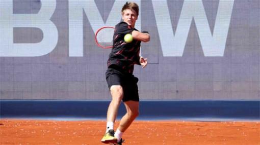 Alexander Zverev thua ngược ở tứ kết giải ATP tại Munich