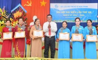 Có 131 cơ sở Hội Liên hiệp Phụ nữ hoàn thành đại hội đại biểu cấp cơ sở
