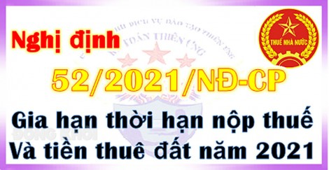 Nghị định về việc gia hạn nộp thuế năm 2021