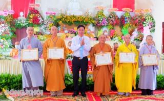 Đại hội đại biểu Phật giáo huyện Thạnh Phú lần thứ VII, nhiệm kỳ 2021 - 2026