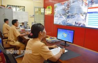 Camera giám sát góp phần đảm bảo trật tự an toàn giao thông