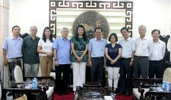 Lãnh đạo tỉnh tiếp Tổ chức ActionAid Quốc tế tại Việt Nam