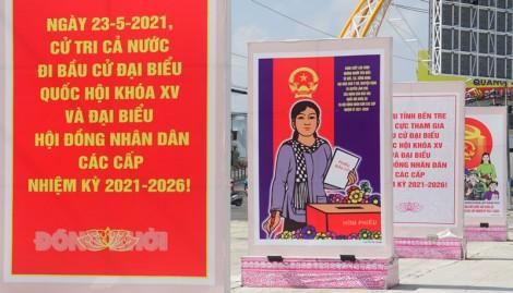 Ðẩy mạnh tuyên truyền bầu cử đại biểu Quốc hội khóa XV và đại biểu HÐND các cấp, nhiệm kỳ 2021 - 2026