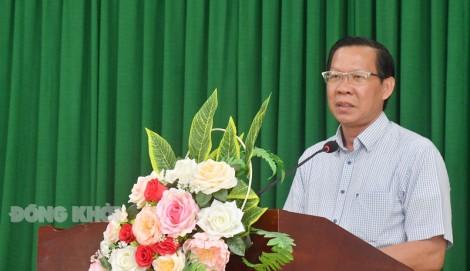 Ứng cử viên đại biểu Quốc hội, HĐND tỉnh tiếp xúc cử tri tại TP. Bến Tre và Mỏ Cày Bắc