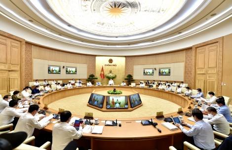 Thông cáo báo chí về phiên họp Chính phủ thường kỳ tháng 4