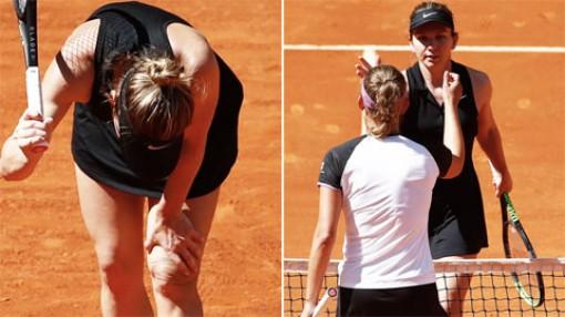 Simona Halep bị loại trước tứ kết Madrid Open 2021